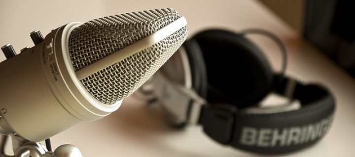 Image of Microphone for Interview Second Year Trainee