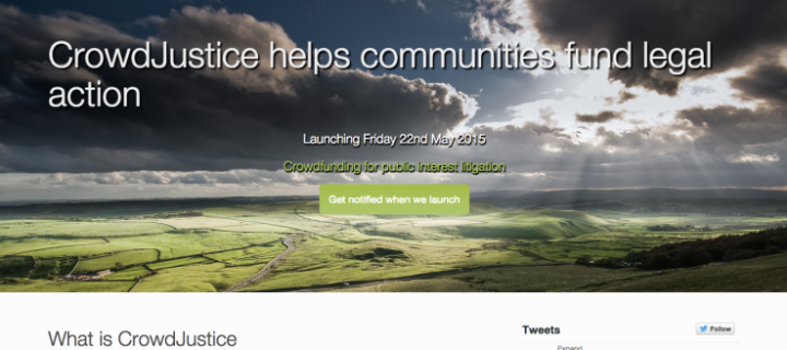 Image of CrowdJustice for Crowdfunding – The Way Forward For Funding Public Law Cases