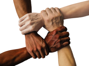 Image of hand for Diversity in the English Legal System