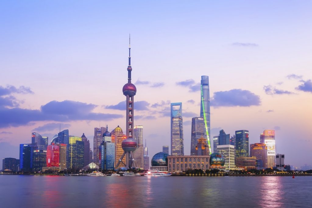 International internship China