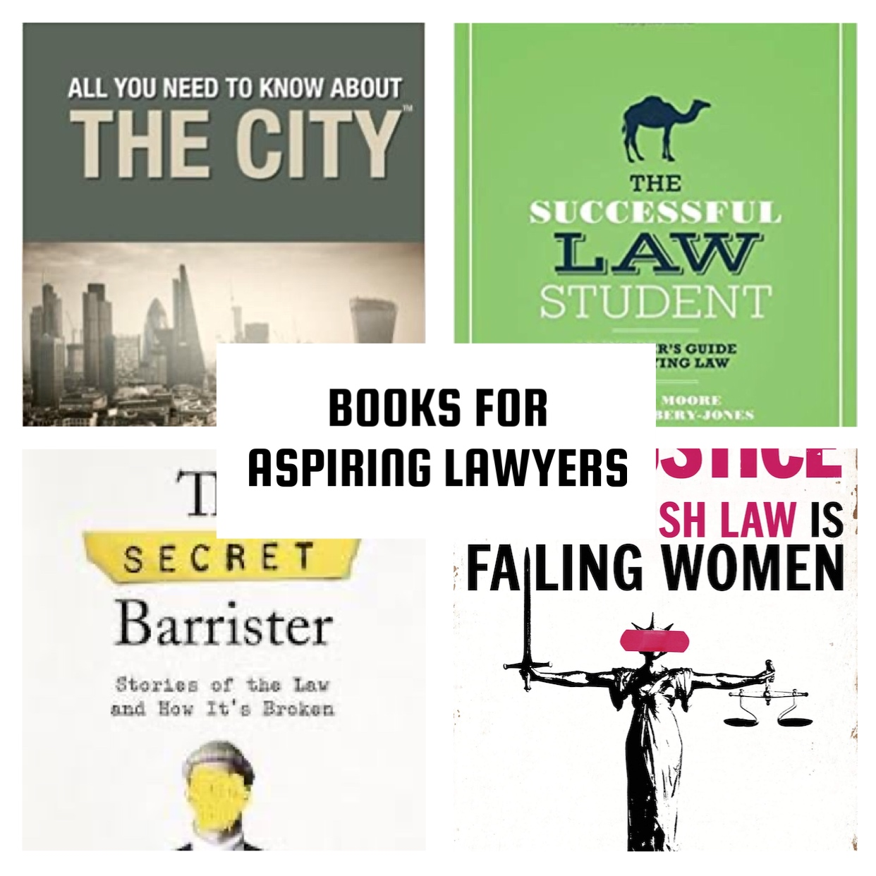 Top 20 books for Aspiring Lawyers   The Student Lawyer